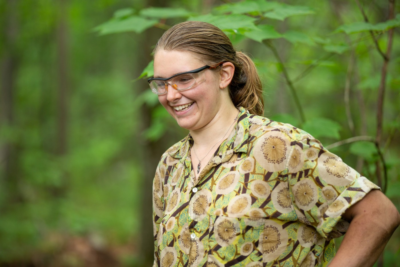 Poke-O-Moonshine was Adirondack Trail Crew leader Char's third all-woman project.