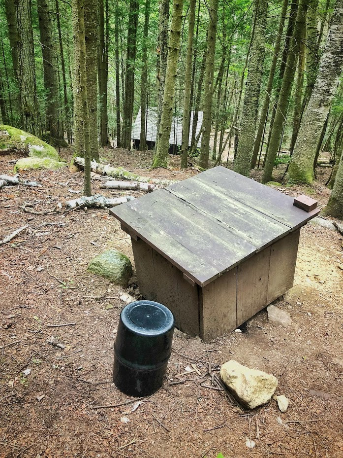 Store your bear canister at least 100ft away from your campsite and near other large objects overnight to help disguise it from passing bears. Store it upside down to make it harder for the bear to find the lid should it try to get inside.